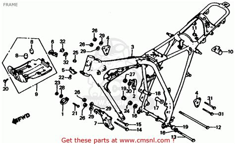 1979 honda xl 185 wiring diagram 32 wiring diagram honda xl185s 1979 z usa frame buy frame spares