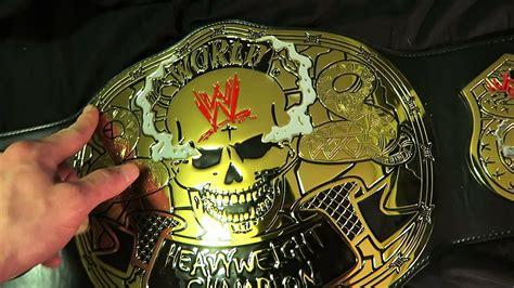 Wwe Smoking Skull Belt Reivew