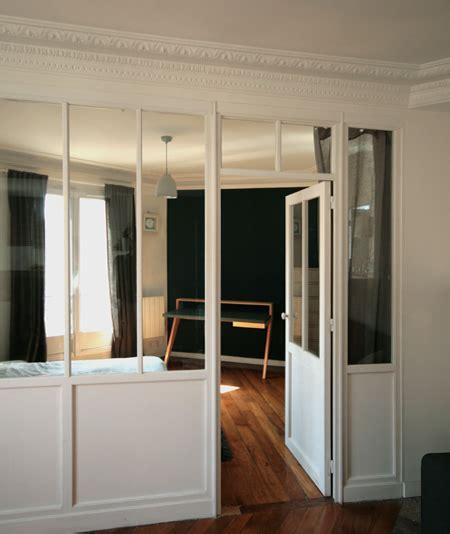 bureau en gros qu饕ec zoom verrière intérieur bois séparant la chambre porte et fenêtres séparer verrière et le chambre