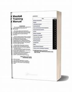Mazda 6 Training Manual