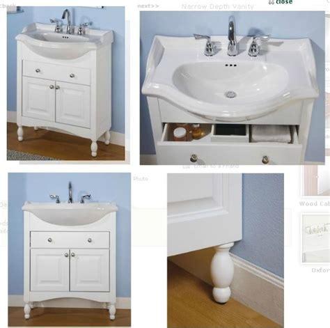 short narrow bathroom cabinet sink and vanity empire windsor narrow depth vanity with
