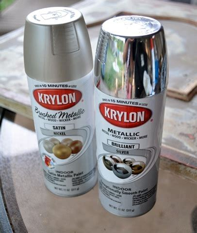 ford satin silver spray paint