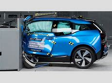 Tesla, BMW fall short in electric vehicle crash tests