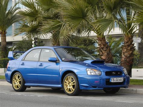 Subaru Wrx Sti Msrp by 2003 Subaru Impreza Wrx Sti News Reviews Msrp Ratings