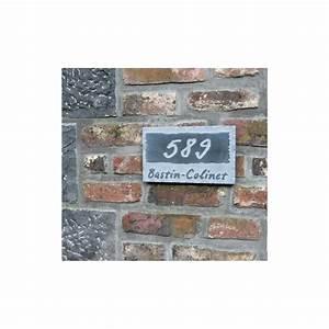 Plaque Numero Maison : plaque de maison originale avec num ro et nom ~ Teatrodelosmanantiales.com Idées de Décoration
