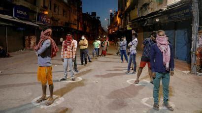 India's coronavirus lockdown harsher than China, Italy ...