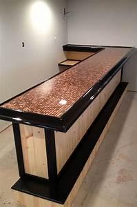 Pallet Wood Bar Tops
