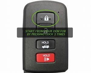2016 - 2019 Toyota Tacoma Remote Start Kit Plug  U0026 Play