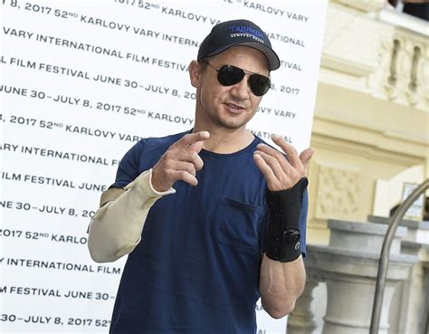 Jeremy Renner Did Fracture Both Arms But Not The Set