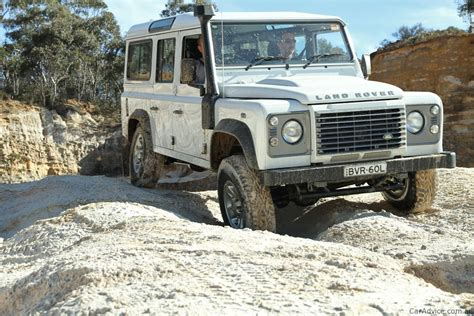 Rover Defender Review by Land Rover Defender Review Caradvice