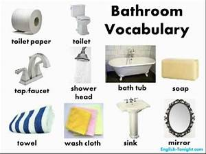 learn english bathroom vocabulary youtube With british term for bathroom