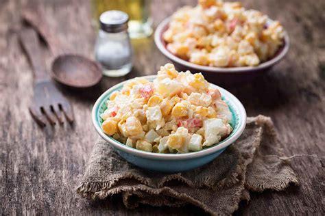 Klasiskie krabju salāti ar gurķi | Receptes