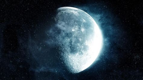 aesthetic blue moon backgrounds