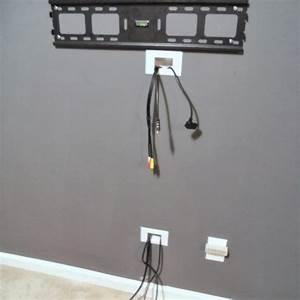 Kabel Verstecken Box : ways to hide cables from wall mounted tv house pinterest ~ Lizthompson.info Haus und Dekorationen