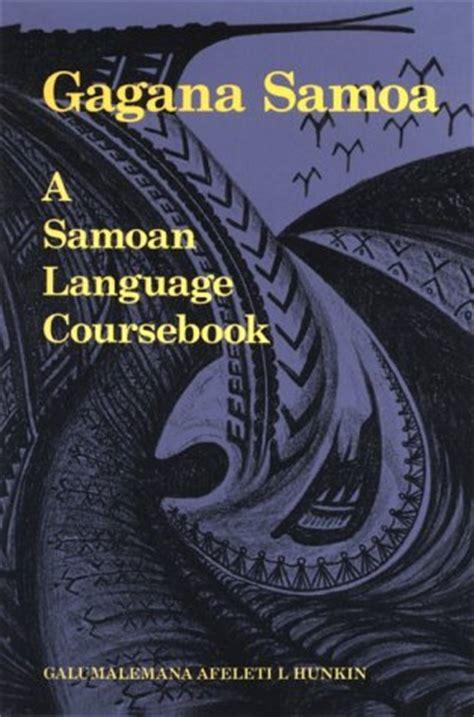 gagana samoa  samoan language coursebook  galumalemana