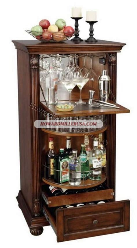 vintage wine cabinet 695078 howard miller wine and spirits storage this clever 3268