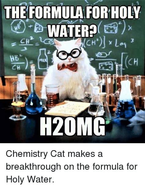 Chemistry Cat Meme 25 Best Memes About Chemistry Cat Chemistry Cat Memes