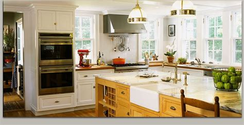 upper cabinets  lots  windows kitchen design warm kitchen real kitchen home
