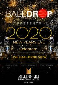 New Years Eve at Millennium Broadway Hotel NYC | NYC New Years Eve 2021
