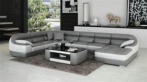 Sofa Runde Form : design ecksofa awesome ecksofa leder cognac mit kissen ~ Lateststills.com Haus und Dekorationen
