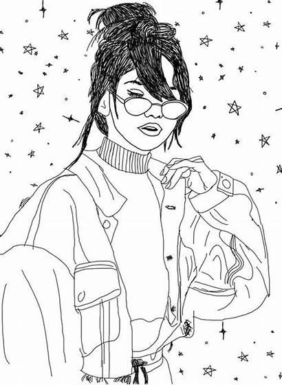 Selena Gomez Drawing Outlines Elegant Draw Drawings