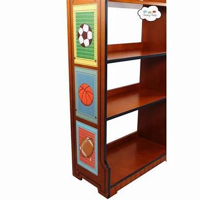 Bookshelf Sports Fan Fantasy Td Painted 0018a