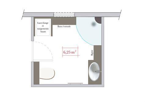 salle de bain carre conseils d architecte 4 plans de salle de bain carr 233 e