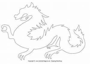 6 Best Images of Dragon Template Printable - Simple ...