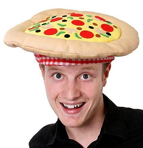 PIZZA HAT FANCY DRESS ACCESSORY HAT NOVELTY HEADWEAR
