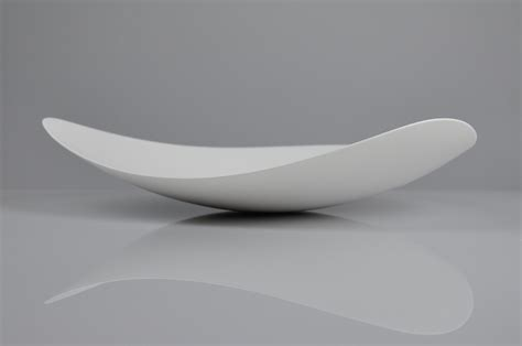 Corian Bowl by Corian 174 Bowl By Nathan Freeman The Hatchery Form 도자기