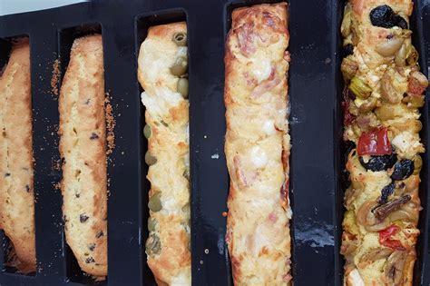 base pour  cakes longs sales avec  cookin recette