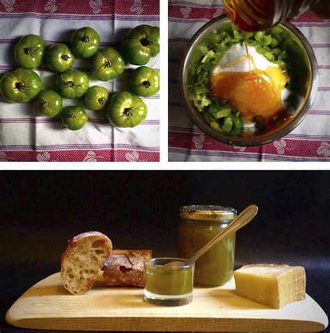 cuisine tomates vertes confiture de tomates vertes et miel wine bee