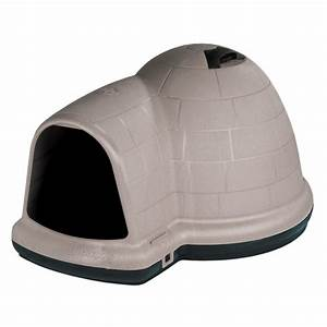 petmate large indigo dog house 08609984 the home depot With petmate indigo dog home