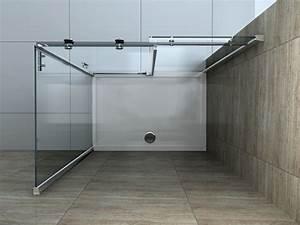 Badspiegel 80 X 80 : area 100 x 80 cm glas schiebet r dusche duschkabine duschwand duschabtrennung ebay ~ Bigdaddyawards.com Haus und Dekorationen