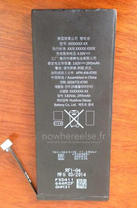 iphone 6 battery mah prototype 2 915 mah battery for 5 5 inch iphone 6 once