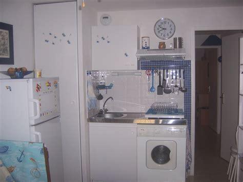 lave cuisine location appartement port la nouvelle soleil mer