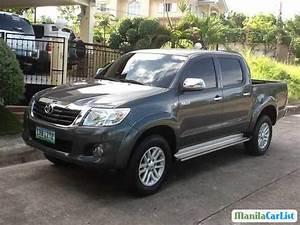 Toyota Hilux Manual 2012 For Sale