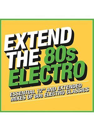 From dubstep to disco, electronic music is a broad category of modern music that includes a wide variety of styles. Various Artists - Extend the 80s - Electro (Music CD)