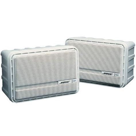 bose 151 indoor outdoor speaker pair white