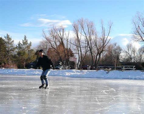 ice skating  sheldon lake