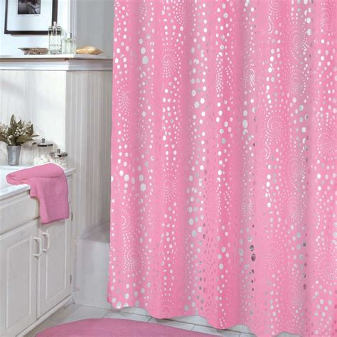 ombre shower curtain 75 inch veratex pink shower curtain with consumer reviews