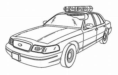 Coloring Police Pages Cars Special Force Sheets