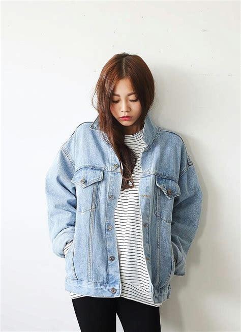 Korean fashion. #denim #stripes #top #casual #kstyle #kfashion | My Style My Fashion ...