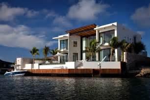 Home Design Florida Modern Waterfront Home Bonaire The Netherlands Antilles