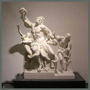 This is an art project, Laocoon and his Sons. Click to ...