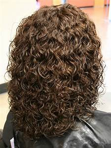shoulder length spiral perm hairstyle photo sheclick
