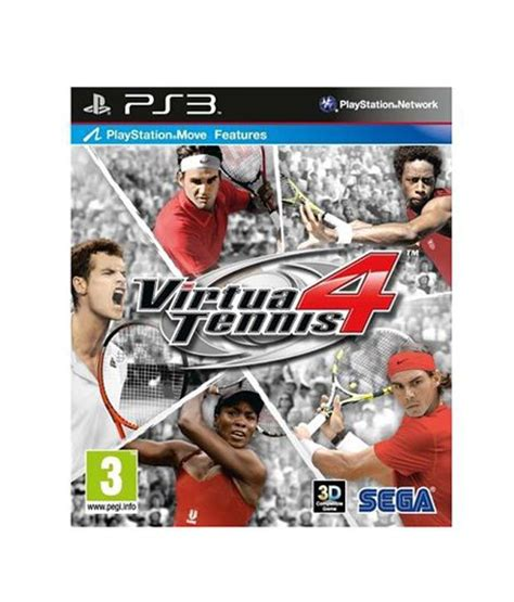 best tennis ps3 buy virtua tennis 4 ps3 at best price in india