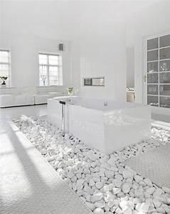 White White Bathroom - Dream House
