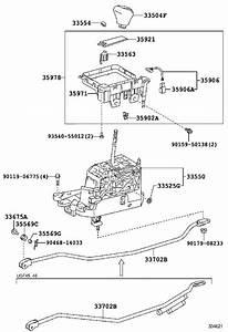 Lexus Ls 460 Cap  Shift Lever  Transmission  Retainer