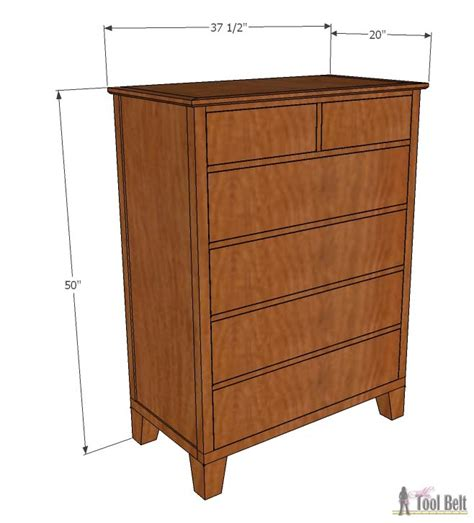 plans  build  tallboy dresser bestdressers